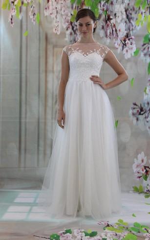 Tulle Skirt Wedding Dress - Dorris Wedding