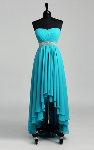 Turquoise Blue Dresses | Mint Blue Prom Gowns - Dorris Wedding
