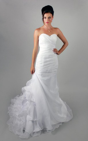 Wedding Gown With Bustle Bustle Ball Style Dress For