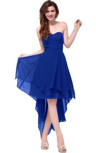 Blue Cocktail Dress
