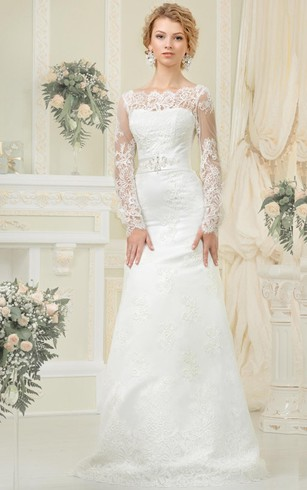 Cheap winter wedding dresses with sleeves