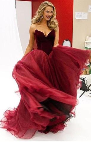 Poofy Style Prom Dress, Poofy Formal Dresses - Dorris Wedding