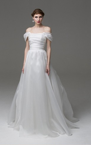 Cheap Wedding Dress | Simple White Bridal Dresses - Dorris Wedding