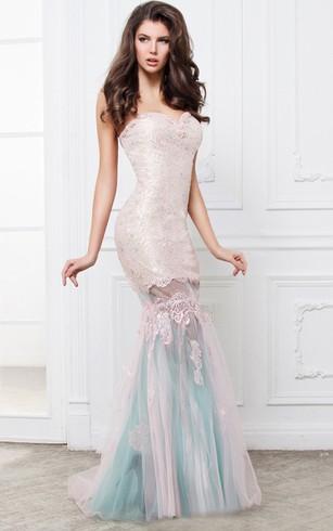Cheap white evening dress for women