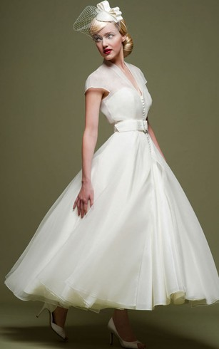 Vintage Bridal Dresses | Country Wedding Gown - Dorris Wedding
