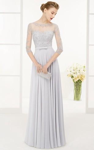 Light Blue Formal Dresses | Pale Blue Formal Dress - Dorris Wedding