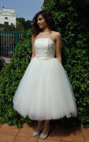 Tea Length Prom Dresses | 1950s Prom Dresses - Dorris Wedding