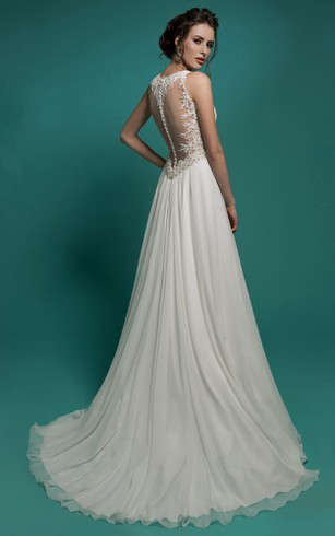 Cheap Bohemian Wedding Gown | Cheap Grecian Beach Bridal Dress ...