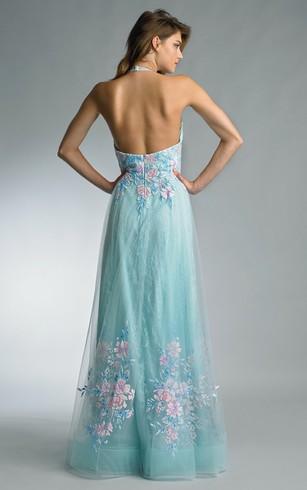 Teal Color Wedding Gowns, Teal Bridal Dresses - Dorris Wedding