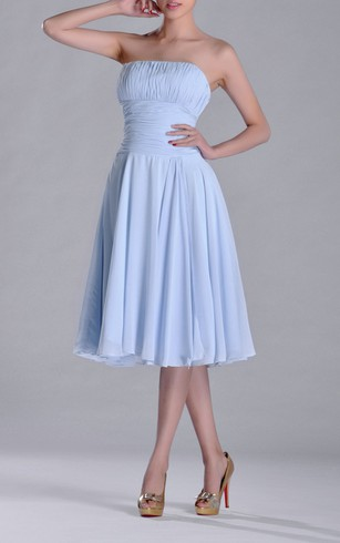 Periwinkle Knee Length Dress