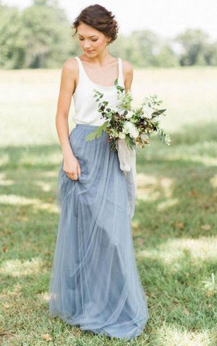 Duck Eggs Blue Bridesmaids Dresses, Pale Blue Color Dress for ...