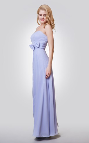 Periwinkle Bridesmaid Dresses - Dorris Wedding