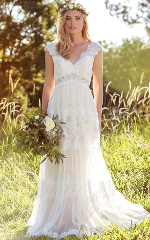 Rustic Wedding Gowns: Country & Western Bridal Dresses - Dorris ...