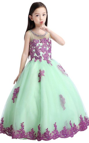 Little Girls Prom Gowns, Flower Girl Dresses - Dorris Wedding