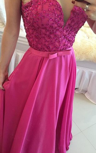 Gorgeous Sleeveless Evening Dress 2016 Beadings Sweetheart