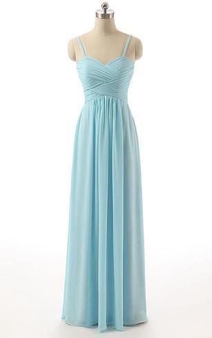 Pale Blue Bridesmaid Dresses | Light Blue Bridesmaid Gowns - Dorris ...