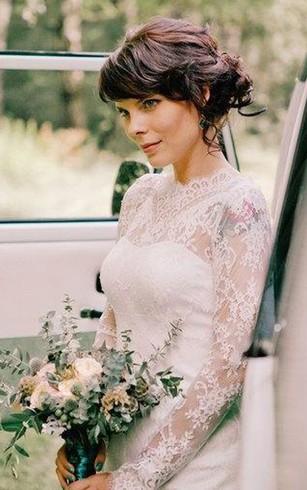 Short Length Bridal Dresses Above Knee Wedding Dress Dorris