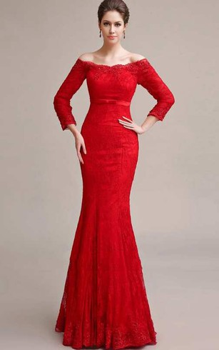 White and red bridal dresses red lace wedding gown dorris wedding long sleeve off the shoulder mermaid long lace dress junglespirit Images
