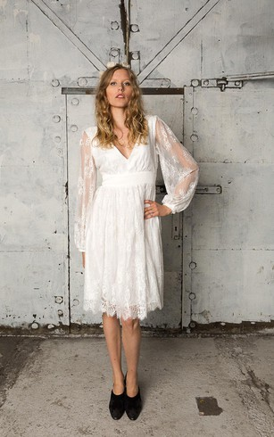 Informal Wedding Dress Dorris Wedding