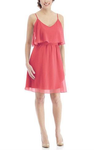 Coral Pink Bridesmaid Dresses
