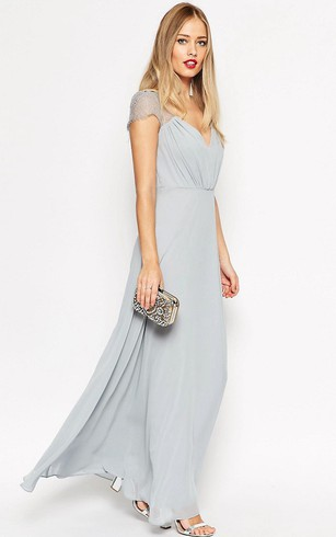 Grey Dress for Bridesmaid