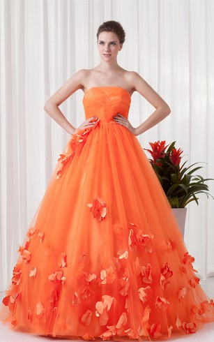 Vibrant Floral Maxi Satin Special Occasion Dresses