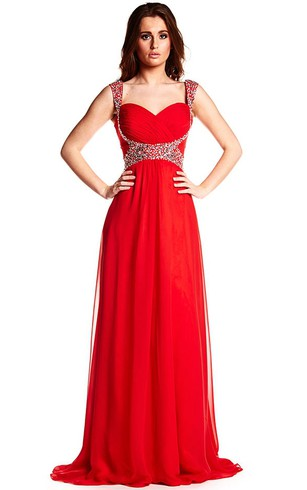 Affordable Red Color Prom & Formal Dresses, Red Color Prom Gown ...