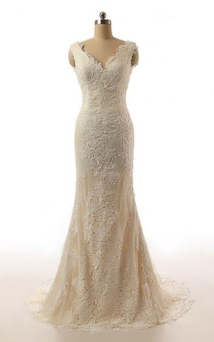 Champagne&Gold Bridal Dresses | Gold Sequined Wedding Dress - Dorris ...