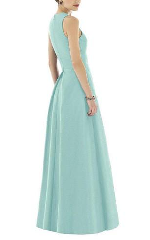 Satin Sleeves Bridesmaids Dresses Satin Fabric Bridesmaid Dress
