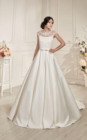 Champagne&Gold Bridal Dresses | Gold Sequined Wedding Dress ...