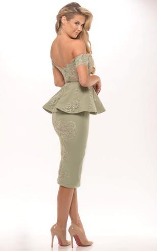 Tea formal Gowns, Mid Length Prom Dresses - Dorris Wedding