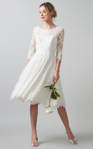 Mature Wedding Dresses Second Marriage - Dorris Wedding
