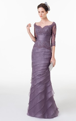 Purple Formal Dresses | Lilac Prom Gowns - Dorris Wedding