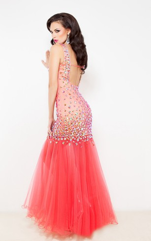 V-Neck Prom Dresses | V-Neck Evening Gowns - Dorris Wedding