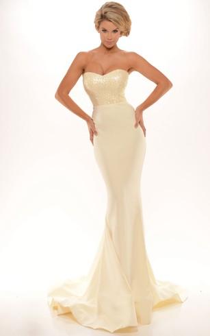 Strapless Prom Dresses | Sweetheart Prom Dresses - Dorris Wedding