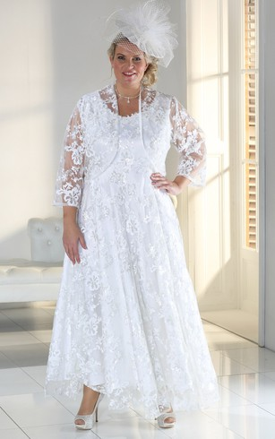 Inexpensive Plus Size Wedding Dresses | Big Sale - Dorris Wedding