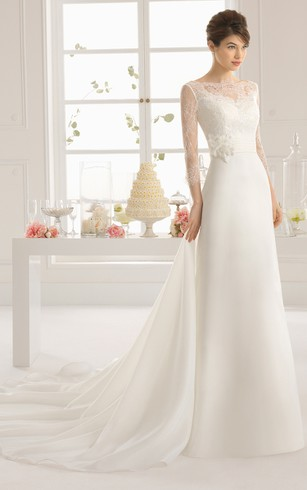 Wedding Dress for Age Over forty, 40 Age Bridals Gowns - Dorris Wedding