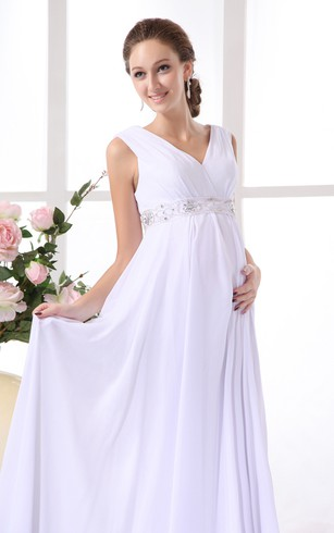 Plus Size Maternity Wedding Dresses - Dorris Wedding