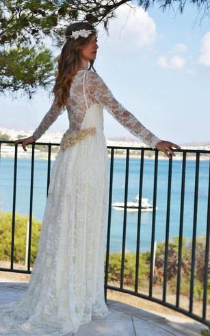 Cheap Boho Wedding Gowns, Bohemian Bridals Dresses Cheap - Dorris ...