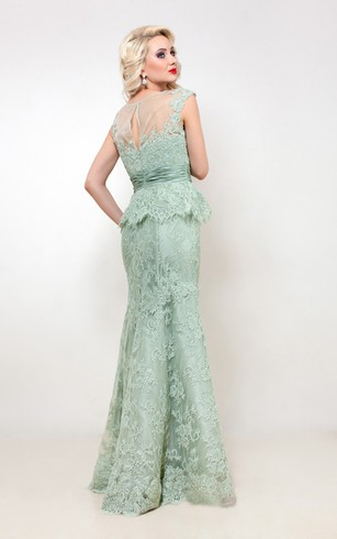 Mint Prom Dress | Pale Green Dresses - Dorris Wedding