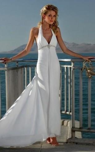 Beach Appropriate Wedding Dresses