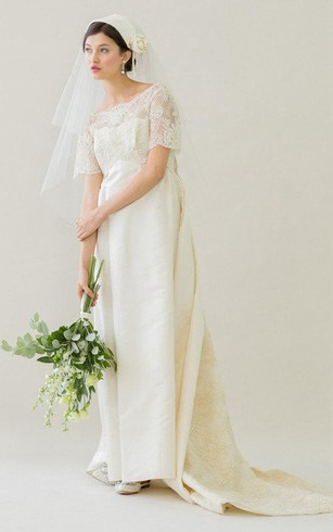 Vintage Style Wedding Dresses With Sleeves - Dorris Wedding