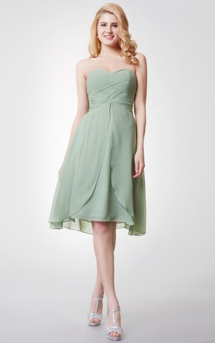sage chiffon bridesmaid dresses