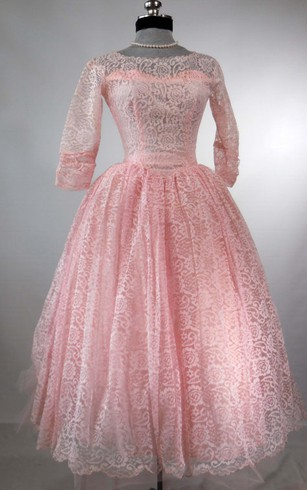 1930's inspired lace formal dresses