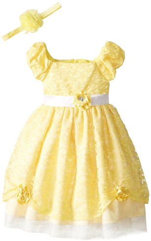 Yellow flower girl dresses flower girl dresses shop by color cap sleeved square neck a line lace dress with flowers mightylinksfo