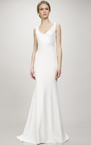 Plain Style Wedding Gowns, Simple Bridal Dresses - Dorris Wedding