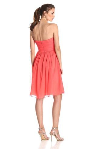 short chiffon bridesmaid dresses