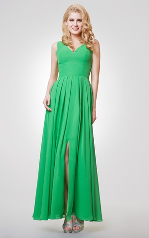 Lime Green Bridesmaid Dresses - Dorris Wedding