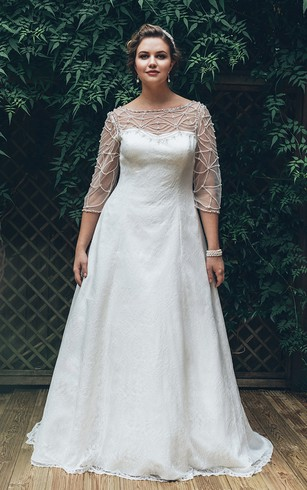 Wedding Dresses For Bigger Ladies | Plus Size - Dorris Wedding