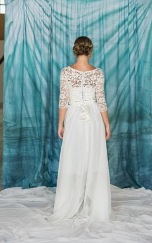 Hi-Low Wedding Dress, High-Lo Bidals Dresses - Dorris Wedding